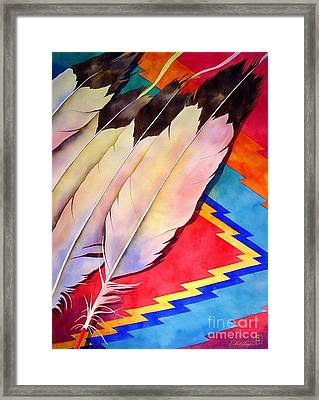 Dancer's Feathers Framed Print by Robert Hooper