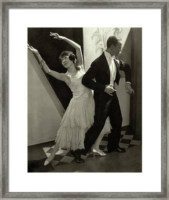 Dancers Fred And Adele Astaire Framed Print