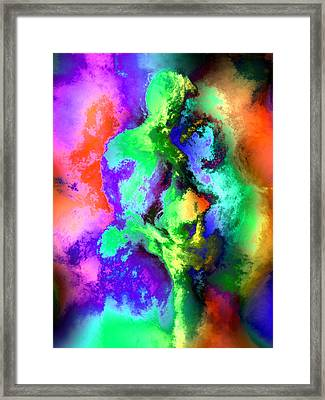Dancers Framed Print by Kurt Van Wagner