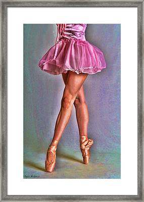 Dancer's Legs Framed Print