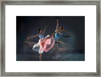 Dancers Framed Print