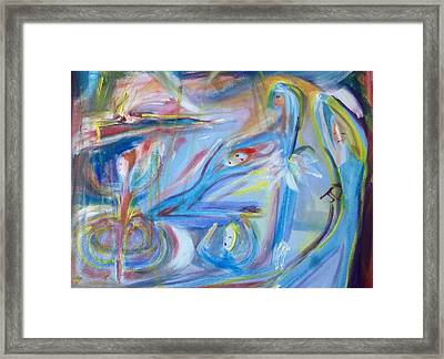 Dances One To Five Framed Print by Judith Desrosiers