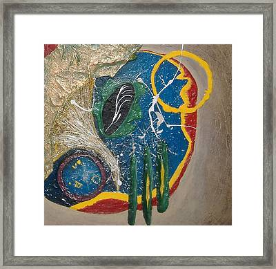 Dances With Aliens Framed Print