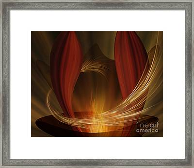 Dances With Fire Framed Print