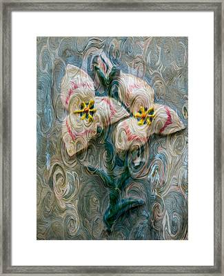 Dances With Flowers Framed Print by Omaste Witkowski