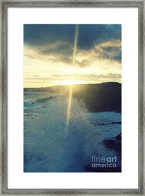 Dances With Light Framed Print
