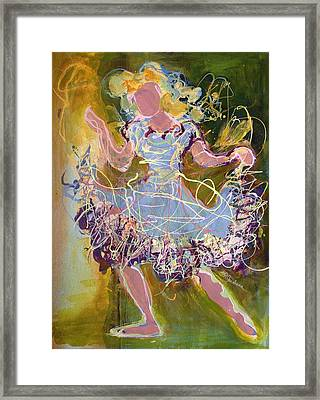 Dancing 1 Framed Print by Marilyn Jacobson