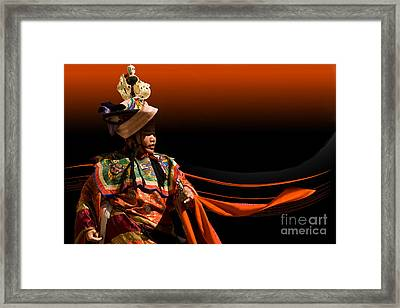 Framed Print featuring the digital art Dancing All Night by Angelika Drake