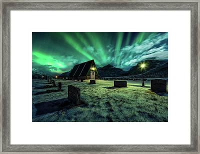 Dancing All Night Long Framed Print
