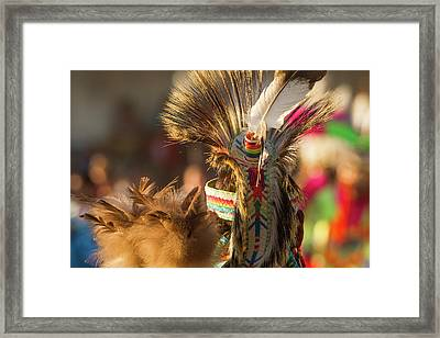 Dancing And Grand March At The North Framed Print by Chuck Haney