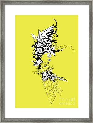 Dancing Angel Framed Print
