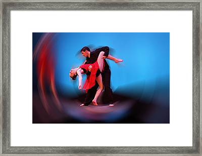 Dancing As One Framed Print by Thomas Fouch
