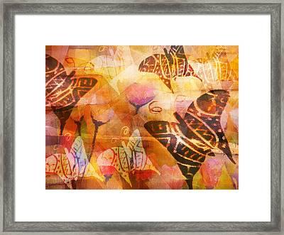 Dancing Butterflies Framed Print by Lutz Baar