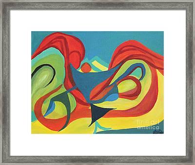 Dancing Child Framed Print