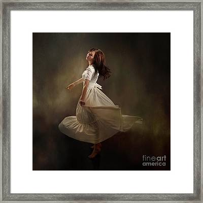 Dancing Dream Framed Print by Cindy Singleton