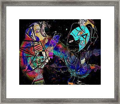 Dancing Dreams  Framed Print by Empty Wall