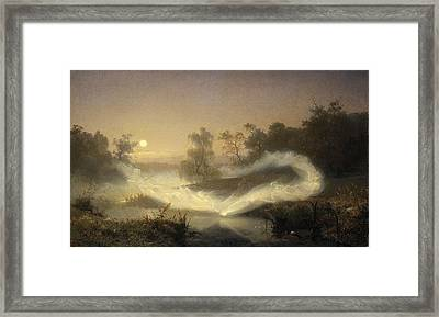 Dancing Fairies Framed Print