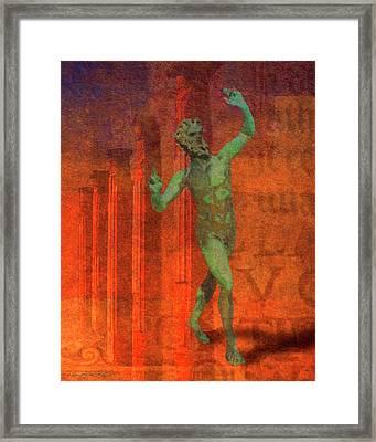 Dancing Faun Framed Print