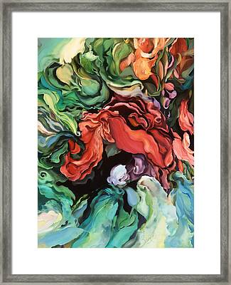 Framed Print featuring the painting Dancing For Joy by Brooks Garten Hauschild