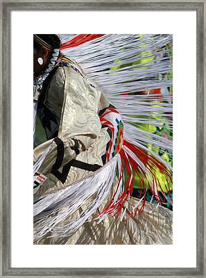 Dancing For The Ancestors Framed Print by Kate Purdy