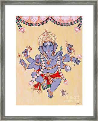 Nritya Ganapati Framed Print