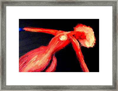 We Were Dancing In Darkness And Loving In The Light  Framed Print