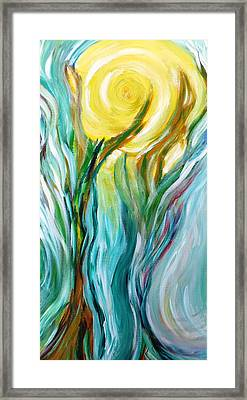 Dancing In Moonlight Framed Print by Amy Drago