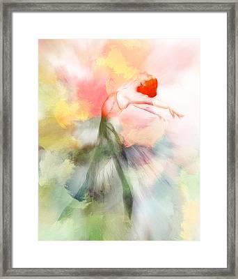 Dancing In Paradise Framed Print