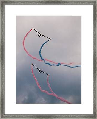 Dancing In The Air Framed Print by Davorin Mance