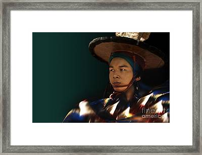 Framed Print featuring the digital art Dancing In The Dark by Angelika Drake