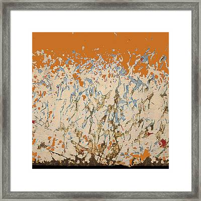 Dancing In The Fire Framed Print by Carol Leigh