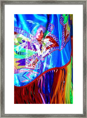 Dancing In The Moment Framed Print