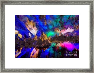 Dancing In The Moon Light Framed Print