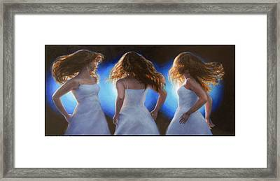 Dancing In The Spotlight Framed Print
