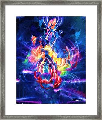 Dancing In The Streets Framed Print