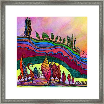 Dancing In The Sunshine Framed Print