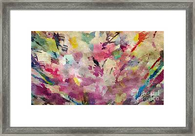 Dancing In The Wind Framed Print by Cindy McClung