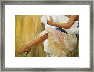 Dancing Legs Framed Print