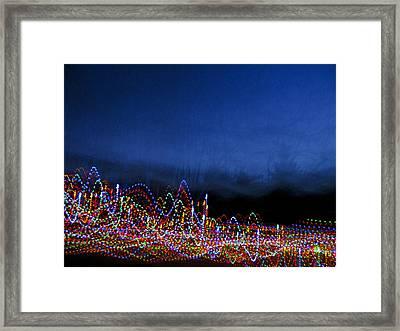Dancing Lights 1 Framed Print
