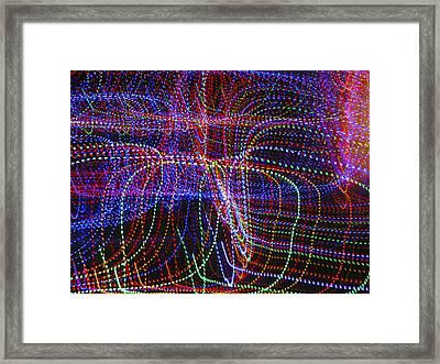 Dancing Lights 5 Framed Print