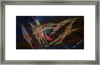 Dancing Lights Framed Print by Louis Ferreira