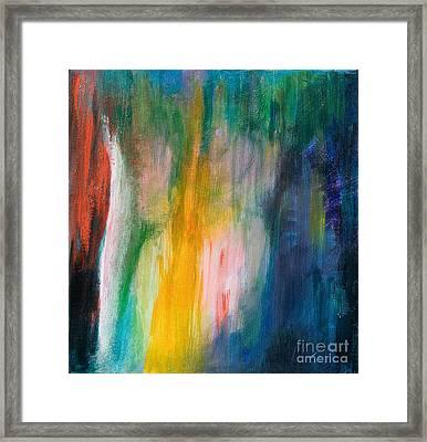 Dancing Lights Framed Print by Stella Levi
