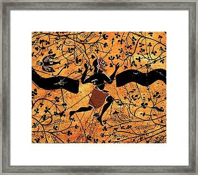 Dancing Man - Study No. 1 Framed Print