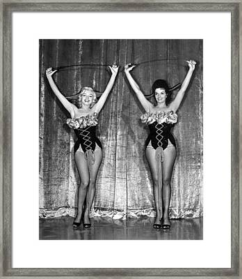 Dancing Marilyn Monroe  Framed Print by Retro Images Archive