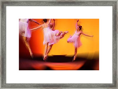 Dancing On Air Framed Print by Thomas Fouch