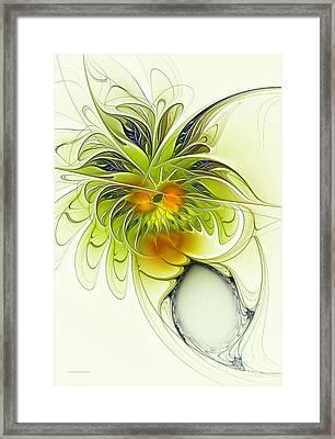Dancing Petals Framed Print