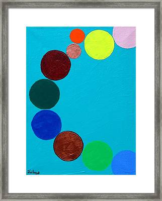 Dancing Planets Framed Print by Jim  Furlong