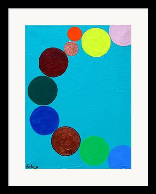 Absurd Ideas Paintings Framed Prints
