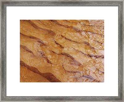 Framed Print featuring the photograph Dancing Reflections Over Ripples by Kathi Mirto