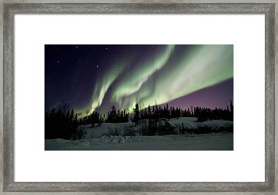 Dancing Sky Framed Print
